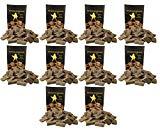 10 x 100 (insgesamt also 1000 Stück) natürlicher Ofenanzünder aus Holzfaser # Grillanzünder Kaminanzünder Feueranzünder Anzündwürfel Anzündhilfe Holzanzünder