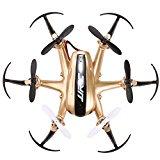Arshiner JJRC H20 Nano Hexacopter RC Drone 2.4GHz 4 Kanal 6 Achsen Gyro Headless Modus Aircraft mit CF Modus automatischer Rückkehr RTF RC Quadrocopter Gold