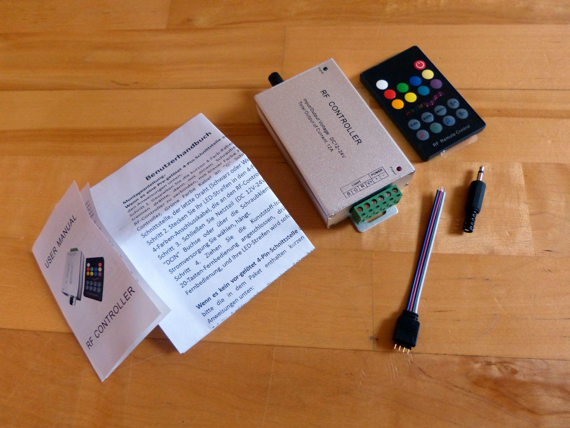 Musiksteuerung für LED Streifen Lichtleisten – Erweiterung zur ...