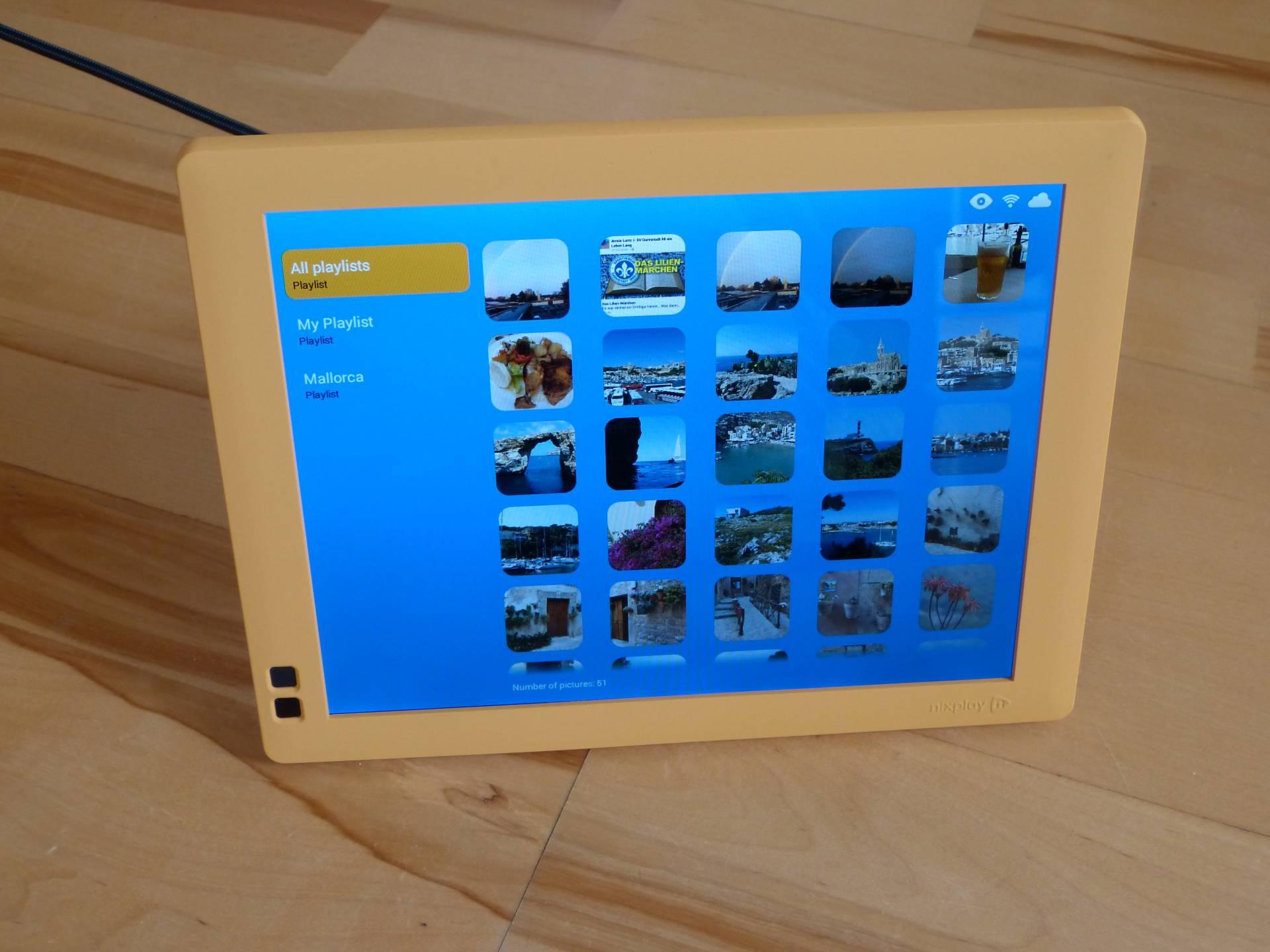 Testbericht Digitaler Bilderrahmen Seed von Nixplay mit Video Review ...