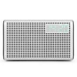 GGMM E3 Smart Wi-Fi/ Bluetooth Multiroom Lautsprecher - Unterstützt Airplay, DLNA, Spotify, Built-in Wi-Fi für iOS & Android Geräte oder PC (Weiß)