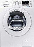 Samsung WW80K5400WW/EG Waschmaschine FL / A+++ / 116 kWh / Jahr / 1400 UpM / 8 kg / Add Wash / Smart Check / Digital Inverter Motor / weiß