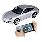 86068 Silverlit Porsche 911 Carrera ferngesteuert Lizenzfahrzeug über I-Phone 1:16 Maßstab