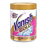 Vanish GOLD Oxi Action für Weißes Pulver, Wäsche-Weiss und Fleckenentferner, 1er Pack (1 x 1000 gms)
